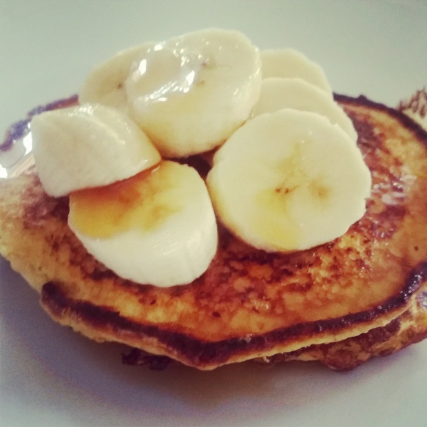 Et voila, pancakes à la slimming world