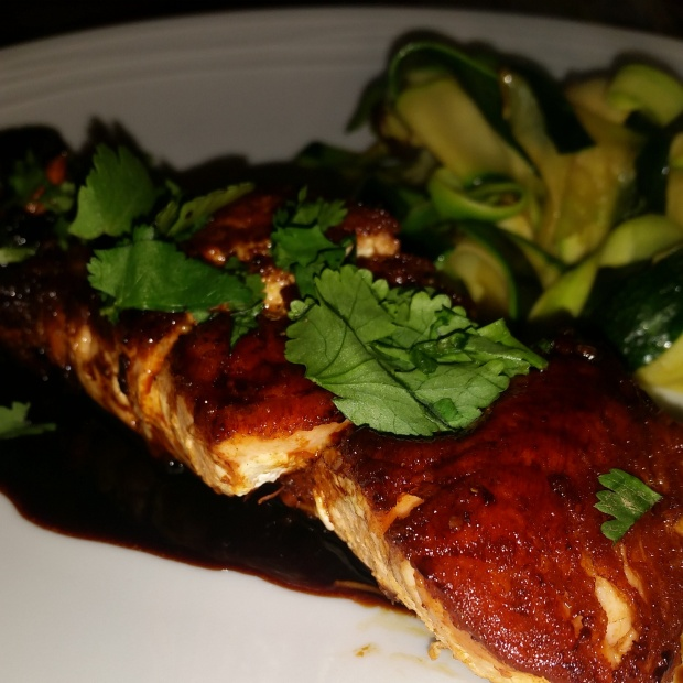 Fish with an Asian twist - it gets the thumbs up from me!